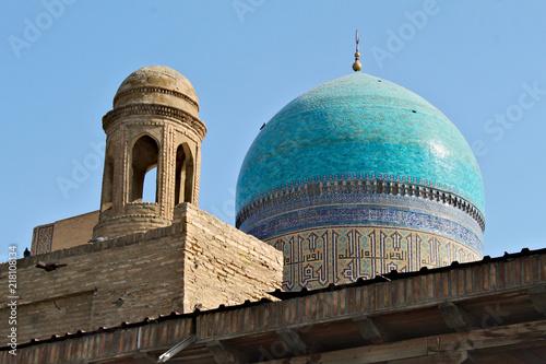 Foto Murales Po-i-Kalan - Islamic religious complex in Bukhara