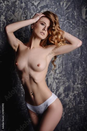 naked female breast