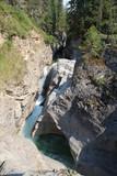 River Carving Canyon, Jasper National Park, Alberta