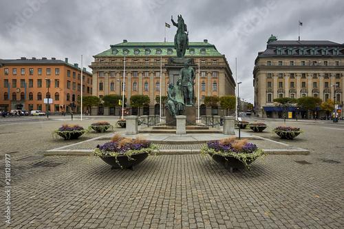 Sztokholm, Szwecja, fragment miasta
