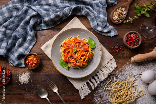 Pasta Table - 218146526