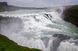 View of Gullfoss waterfall ,Iceland summer. - 218149374