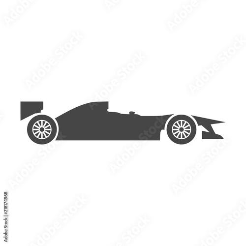 Foto Spatwand F1 Formula One Race Car icon