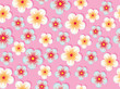 Exotic Sweet Flower Floral Seamless Pattern Nature Illustration - 218177914