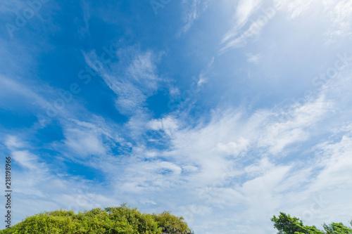 空・雲・畑・田舎・街並み