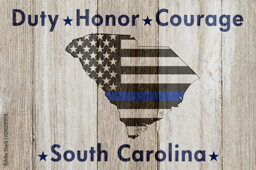 South Carolina Duty Honor and Courage message