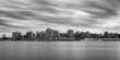 Long exposure of Halifax skyline from across the river in Dartmouth, Nova Scotia