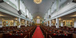 Interior of the historic St. Paul's Church in downtown Halifax, Nova Scotia
