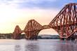 Leinwanddruck Bild - The Forth bridge Edinburgh