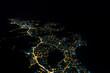 Buzios city at night from sky - 218215712