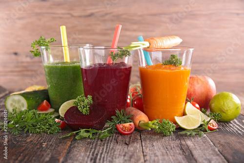 Aluminium Sap vegetable juice or smoothie