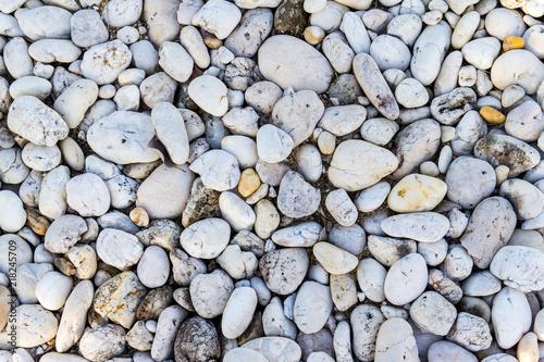 In de dag Stenen Pebbles stone background