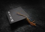 STEM graduation cap - 218247762