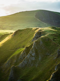 Beautiful cliffside in the peak district of Great Britain - 218256709