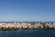 Quadro Neighbourhood of Ipanema in Rio de Janeiro with in the foreground the city lake and in the background the Atlantic ocean with a few islands off the coast