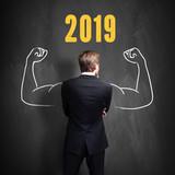 Unternehmer freut sich auf 2019