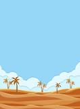 Beautidul desert frame template - 218317115