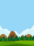 A beautiful nature landscape - 218317117