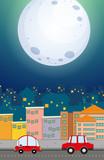 An urban night view - 218317382