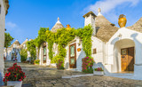 The traditional Trulli houses in Alberobello city, Apulia, Italy - 218334753