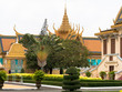 canvas print picture - Königspalast Phnom Penh, Kambodscha