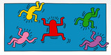 pop art illustrations of a little man