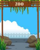 A beautiful zoo template - 218363102