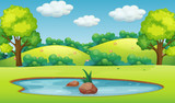A beautiful nature landscape - 218363140
