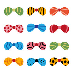 bow vector collection design