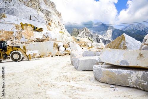 Carrara marble quarry  Apuan Alps, Tuscany, Italy | Buy