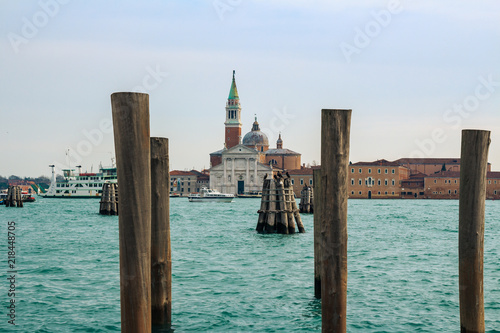 Palladio's Church of the Redeemer in Venice, Italy