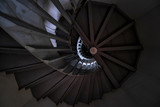 Staircase in the tower of Bangpain castle, Ayudhaya, Thailand
