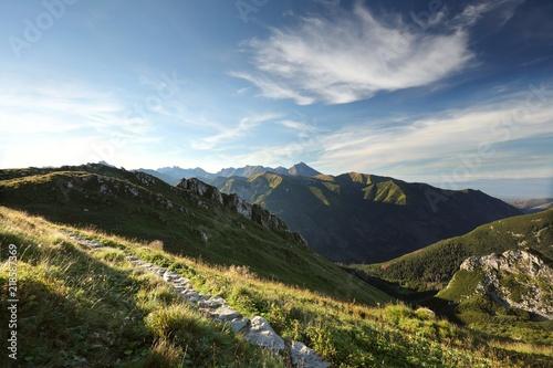 Fototapeta Tatra Mountains at dawn