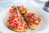 Greek Bruschetta  - 218588962