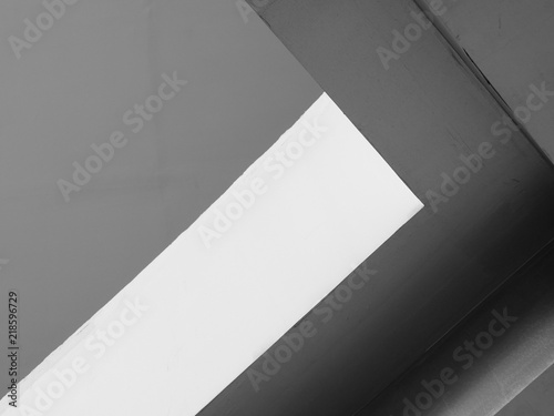 Abstract background architecture lines. modern architecture detail. Refined fragment of contemporary office interior / public building.
