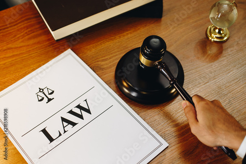 Law Legal Documents With Gavel At The Side Buy Photos AP Images - Buy legal documents