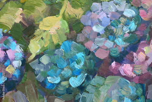 abstract background. oil painting © Aloksa