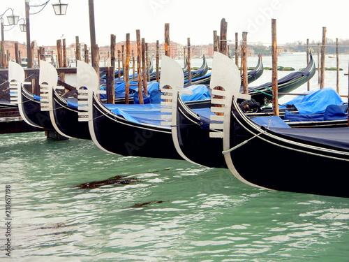Venezia - le gondole