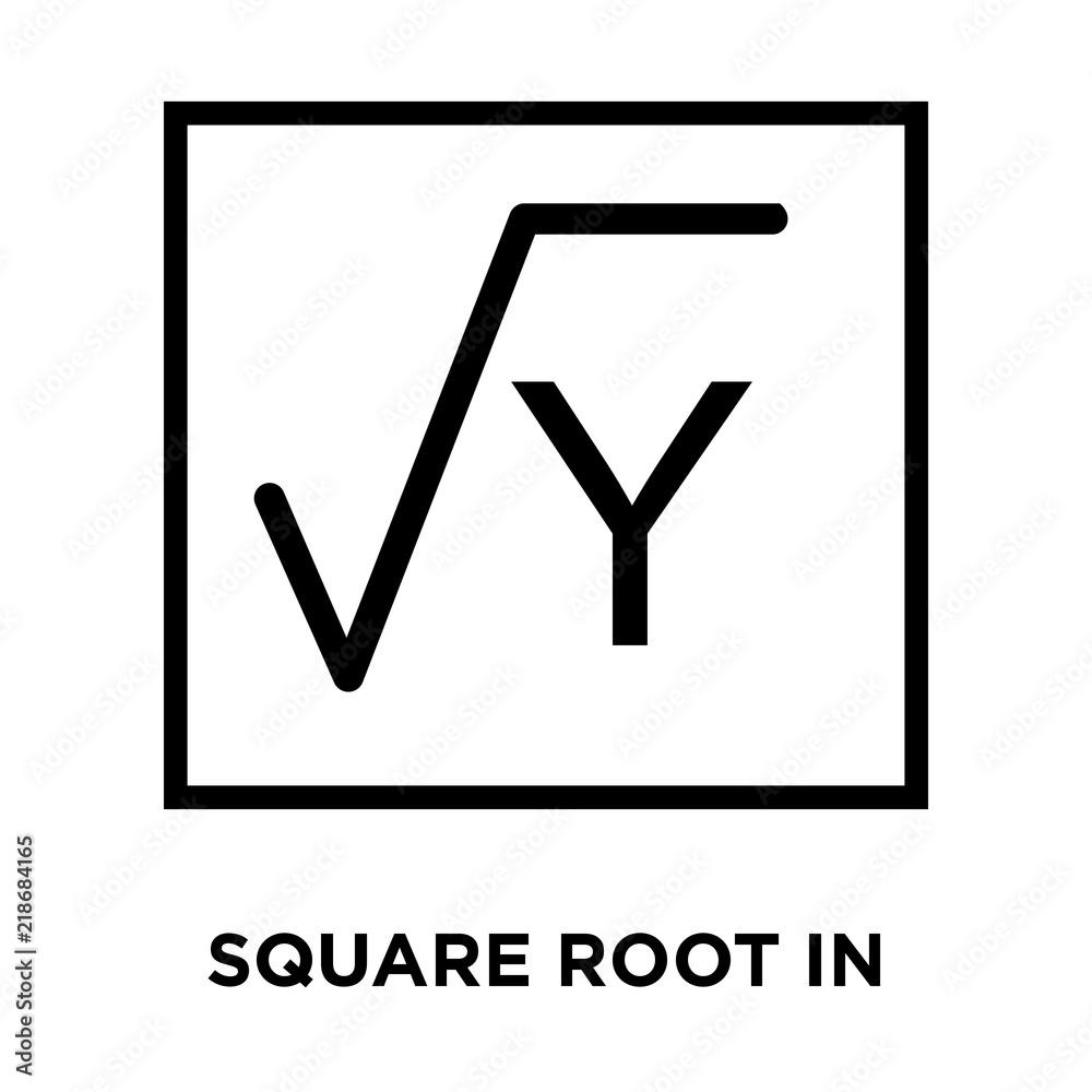Square Root Symbol Clipart Topsimages