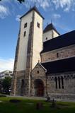View of historical buildings of Bergen, Norway - 218722169