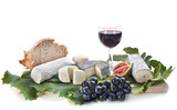 platter of cheeses - 218723306