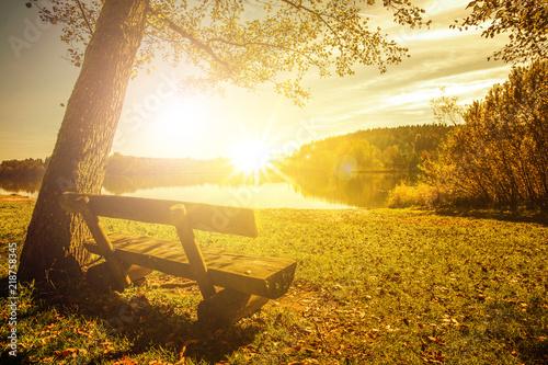 Leinwanddruck Bild Herbststimmung