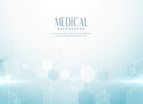 abstract medical science background concept - 218765333