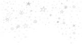 Fototapety Sterne Stern Regen Konfetti Schnee Weihnachten Flocken Schneeflocken Skizze Zeichnung