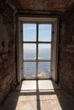 Looking out from old lighthouse