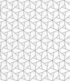 Vector seamless texture. Modern geometric background. Grid with hexagons and rhombuses. - 218847367