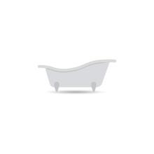 Bathtub Icon Bath   On A Light  The Concept Of Designation Of Shower Sauna Element For Your Design Sticker
