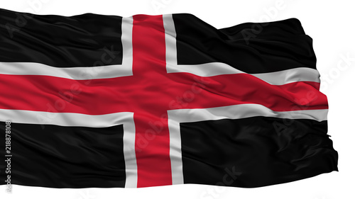 Durham City Flag Country Uk Isolated On White Background Buy