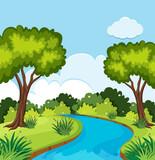 A beautiful nature landscape - 218883514