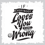 Typography for t shirt or sweatshirt printing and embroidery. Print for tee. Inspirational quote, motivation.